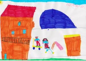 disegno scuola infanzia Cambiasca