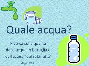 ricerca acqua